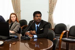 Аспирант РФФ из Индии защитил диссертацию на получение степени PhD TSU